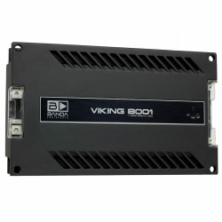 Banda Viking 8001 - 1 Channel 9100 Watts RMS 1 Ohm Car Audio Amplifier 8000w 8k