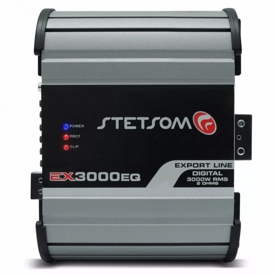 Stetsom Ex 3000 2 Ohm Mono High Power Car Audio Amplifier 3 Day Delivery