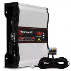 Taramps DSP 1800 1 Ohm High Power HV Car Audio Amplifier 3 Day Delivery USA