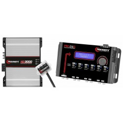 Taramps HD 3000 1 Ohm Amplifier HD3000 3K PRO 2.6S Taramp's Kit - 3 Day Delivery
