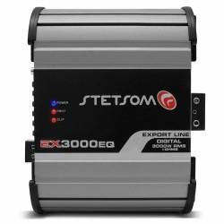 Stetsom EX 3000 EQ 2 Ohm Car Audio Amplifier + Stetsom STX 2436 Bluetooth DIGITA