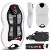 Stetsom SX2 White - Long Distance Remote Control - 16 Functions - Free Lanyard