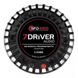 Driver Phenolic Sfd 4300 150w Rms 8 Ohms 7 Driver Taramps Car Audio sfd4300