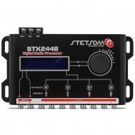Stetsom Stx2448 Digital Audio Equalizer Processor Car Audio - 3 Day Delivery