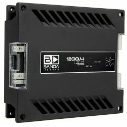 Banda 1200.4 2 Ohms 4 Channel 1200 Watts RMS Car Audio Amplifier 1200x4