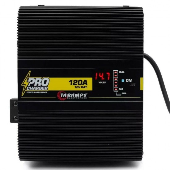 Taramps Pro charger 120A 12 Volt Power Supply Taramp's pro charge 3 Day Delivery